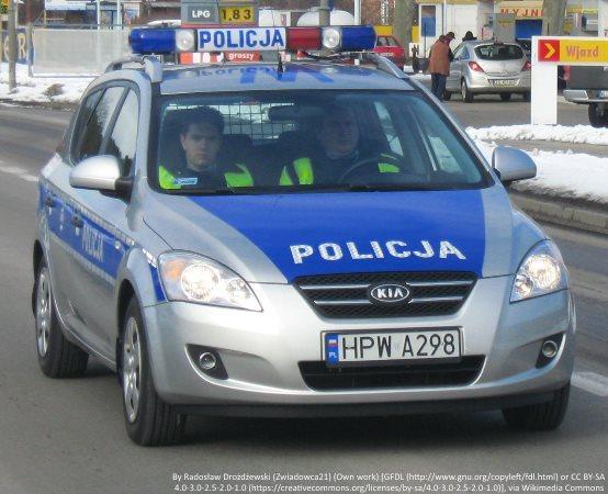 Policja Rzeszów: Udaremnili dalszą jazdę nietrzeźwemu kierowcy