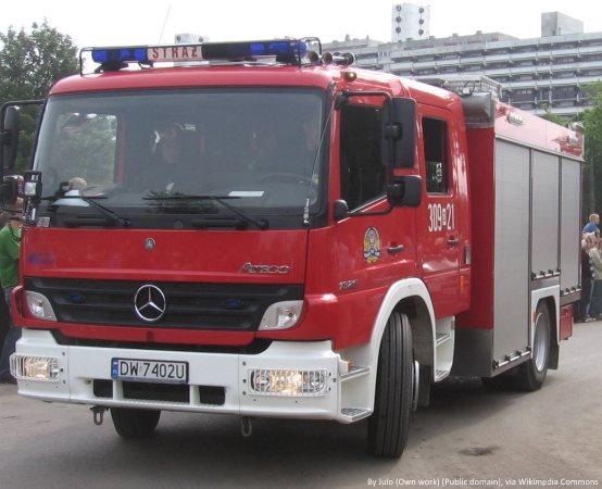 KMPSP Rzeszów:                         Apel strażaków